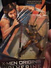2009 X-Men Origins Wolverine Movie Comic Series Brown Suit Figure