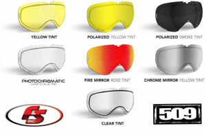 New 2020 509 Revolver Snowmobile Goggle Trail Lenses Polarized Photochromatic