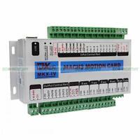 Mach3 USB 4 Axis 2 MHz CNC Motion Control Card Control Breakout Board