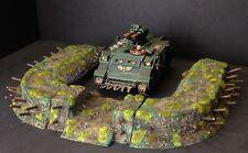 Earth work Tank / Artillery bunker, resin models for war games