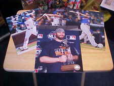 SPECIAL! (4) Daniel Murphy NY Mets LICENSED 8x10 Color Photo'S FREE SHIPPING