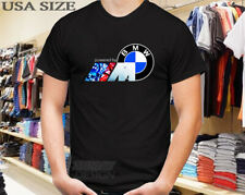 NEW T-SHIRT BMW M POWER BMW M LOGO MOTORSPORT FREE SHIPPING