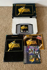 Original Nintendo 64 Game: Zelda Ocarina of Time, Sealed one end, Box and Manual