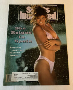 Sports Illustrated 1992 Swimsuit Edition Kathy Ireland Reigns Spain Cover Only