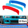 For BMW 3-Series E46 2 Dr 98-02 Kidney Grille M Sport 3 Color Cover Stripe Clips