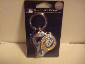 MLB Oakland Athletics  3 In 1 Key chain,Nail Clippers & Bottle Opener (NEW)