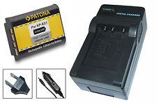 Akku + Ladegerät für Sony Cyber-shot DSC-RX100 II, III, IV, V, VI, VII - NP-BX1