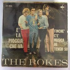The Rokes - E' la pioggia che va, Finché c'è musica mi tengo su - 7-2412