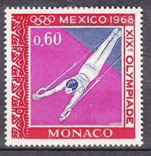 TIMBRE MONACO NEUF N° 738 *   jeux olympique de mexico ANNEAUX