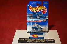 Hot Wheels - Tee'd Off - 1999 First Editions #683 Golf Cart 1:64 Pearl Blue
