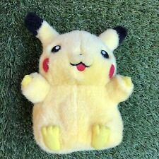 Vintage 1999 Pokemon Pikachu Nintendo Tomy Plush Talking Collectors Toy