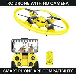 Remote Control Drone 'Hasakee' Q8 Aerial Aircraft With HD Camera - Download App
