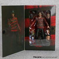 "NECA Horror Film A Nightmare on Elm Street Freddy Krueger 30th 7"" Action Figure"