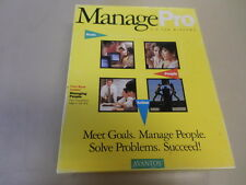 ManagePro 2.0 for Windows Used Software Sale Free Domestic Shipping