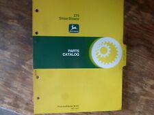 John Deere 275 Snow Blower Parts Catalog Manual Book Original Pc-1411