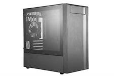 Cooler Master MasterBox NR400 w/Front Mesh Ventilation Minimal Design Tempere...