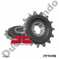 Front sprocket 15 tooth JT cushioned steel Ducati 749 999 Diavel 848 1098 1198