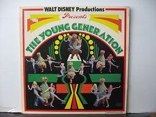 WALT DISNEY Productions Presents THE YOUNG GENERATION Buena Vista FREE UK POST