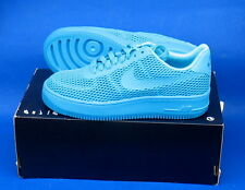 WOMENS NIKE AF1 AIR FORCE ONE SHOES / SIZE 8 / GAMMA BLUE / NIKE AIR FORCE ONE