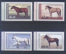 Postfrische Briefmarken aus Asien mit Pferde-Motiv