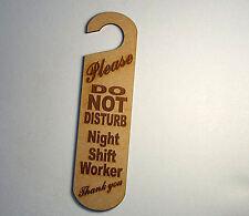 Do not disturb sign - Night Shift Worker  #17