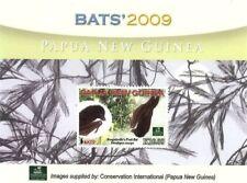Papua New Guinea 2009 - Bats Stamp Souvenir sheet MNH