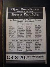 Partition Ojos Castellanos Puerta Figura Espanola J Castillos