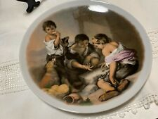 """HEINRICH  Collectors Plate  Germany  8 1/2""""  Children Playing"""