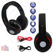 New Wireless Bluetooth 4.2 Stereo Hands free Extra Bass Music Black Headphone