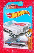 2016 Hot Wheels Muscle Mania  '72 Ford Gran Torino Sport #122 DHX94-D9B0N  ZAMAC