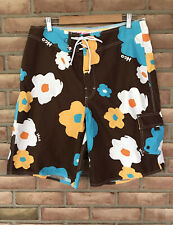 HOLLISTER FLORAL SWIMMING TRUNKS/Board Shorts MEN'S SIZE 32