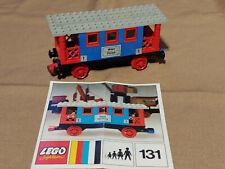 Lego 131 Personen-Waggon mit OBA Eisenbahn z.B. 7727 7730 7735 7750 TRAIN