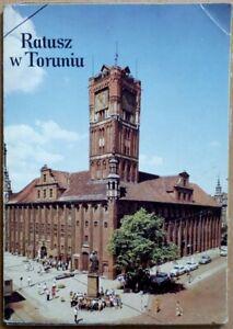 RATUSZ W TORUNIU   Thorn Thorunia city hall   postcards