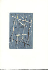 PETER GUTH * original limited edition wood cut from 1994