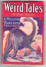 Pulp WEIRD TALES November 1930 - Robert E. Howard KULL, Clark Ashton Smith, VG/F
