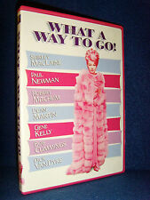 What A Way to Go! (DVD 2005) Mint Disc•No Scratches•USA•Out-of-Print•Paul Newman