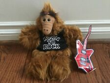 "1988 ALF Rock and Roll PUPPET Burger King Promo 11"" Guitar Born to Rock Alien TV"