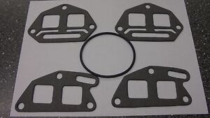 Triumph STAG ** INLET MANIFOLD GASKET SET ** Including Carb O Ring