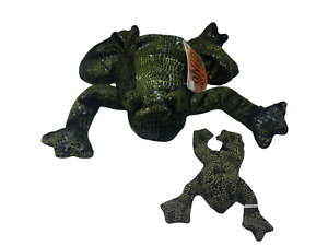 """Russ Frog Flemington Plush Zonies Green Earth Zone 8"""" Bean Bag and Other"""