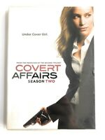 Covert Affairs: Season Two (DVD, 2012, 4-Disc Set) BRAND NEW SEALED