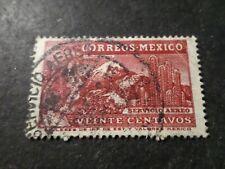 MEXIQUE, timbre aérien 63, POSTE AERIENNE, AVION, VF AIRMAIL STAMP LOT B