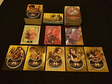 THE MUMMY RETURNS CARD SET + 2 CHASE SETS + THE SCORPION KING SET + EXTRAS