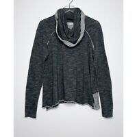 FREE PEOPLE FP BEACH Cocoon Oversized Top Cowl Neck Sweater Gray size Medium