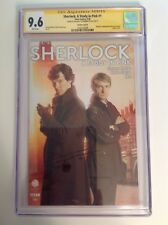 CGC SS 9.6 Sherlock A Study in Pink #1 signed Benedict Cumberbatch not 9.8