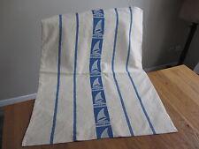 Grand sac à linge liteau bleu marque Uniblanc Réf 11486