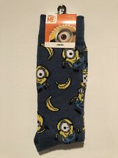 MINIONS Ankle Socks for Kids 4 DESIGNS DESPICABLE ME