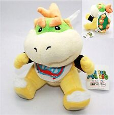 "Super Mario Brothers Bowser Koopa Jr. Junior 7"" Plush Doll Christmas Toy US"