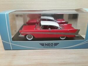 NEO 1/43 Plymouth Fury Hardtop 1958 Neo scale models