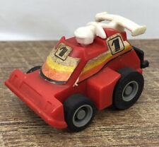 Vintage Takara Tomy Choro Q F-1 Formula 1 Race Car Red Works Dunlop Tires
