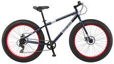 Mongoose Men's Dolomite Fat Boys Tire Cruiser Bike, Blue, 26 inch